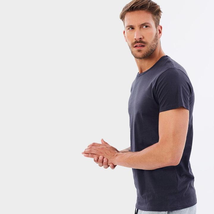 Organic Cotton Mens T-Shirt  - French Navy by Cloth & Co
