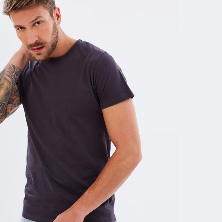 Organic Cotton Mens T-Shirt  - Ink by Cloth & Co