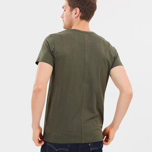 Organic Cotton Mens T-Shirt  - Olive by Cloth & Co