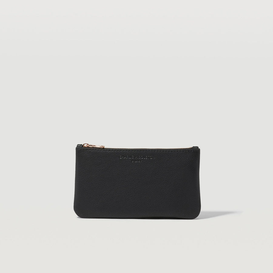 Black Nappa Mini Pochette