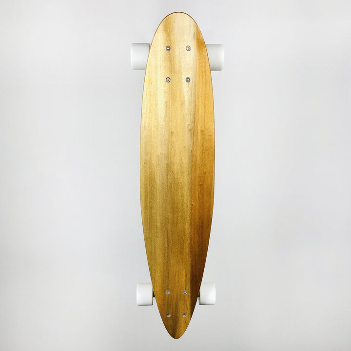 Gully Boards NZ Kauri Skateboard - Small Pin-Tail