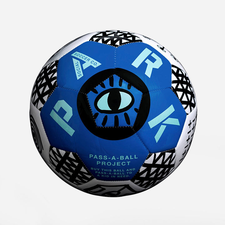 PARK Soccer Ball - Blue