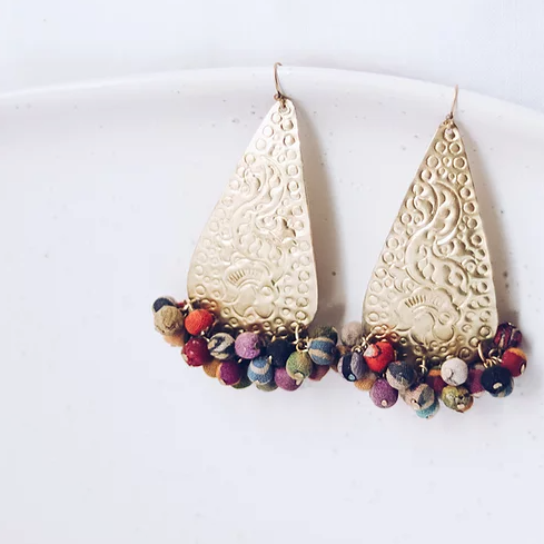 Upcycle Colour Feast Earrings