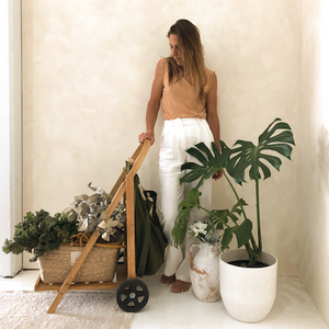 The Sol Shopper Seagrass Basket and The Wanderer by Wandering Sol