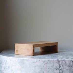 Mango Wood Table Riser - Short by The Wood People
