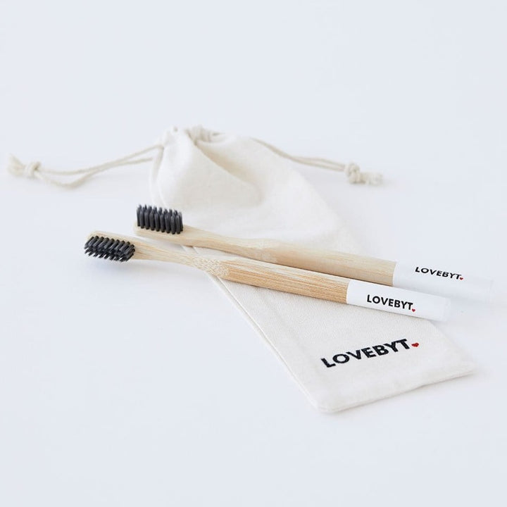 LOVEBYT Bamboo Toothbrushes