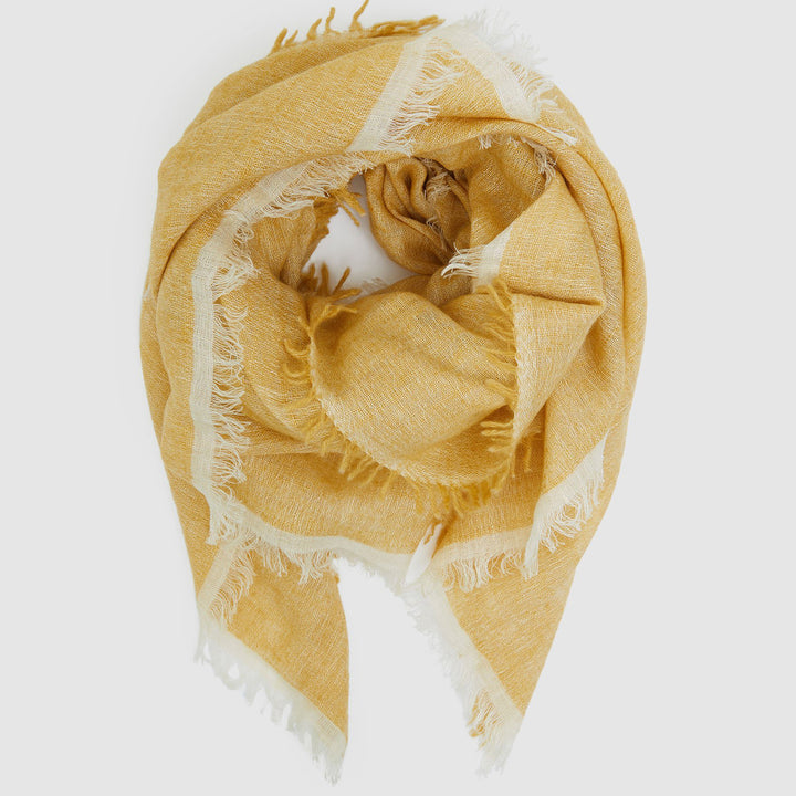 Cashmere Linen Scarf - Ginger