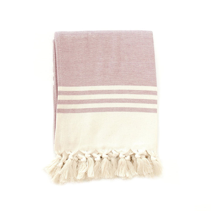 Cloth & Co Organic Cotton Beach Towel - Raspberry