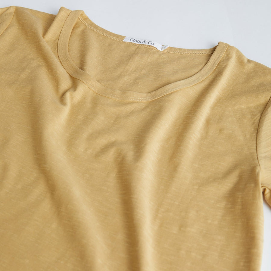 Cloth & Co. Slub T-Shirt | Harvest
