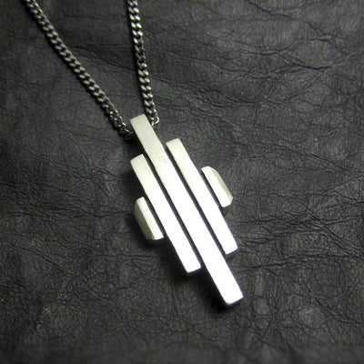 Metropolis Necklace Silver