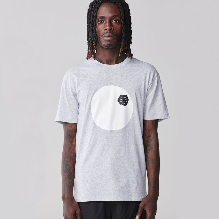 Simple Game Organic Cotton T-Shirt - Grey Marle