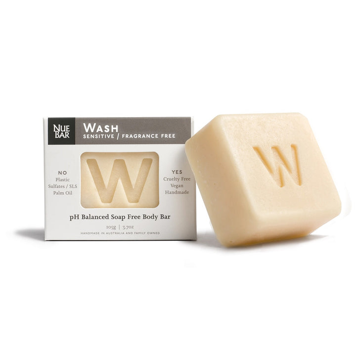 NueBar Solid Fragrance Free Wash Bar