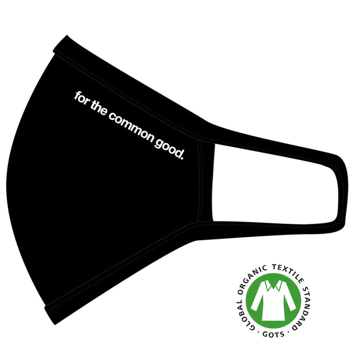 GOTS Certified Face Masks - Ethically Made - For The Common Good