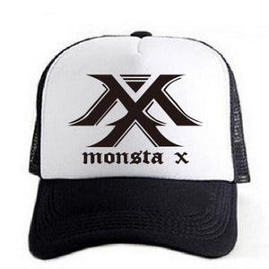 Monsta X Kpop Breathable Cap