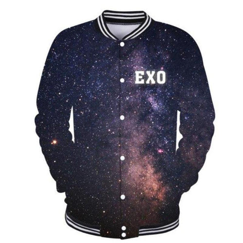 EXO 3D Printed Baseball Jacket