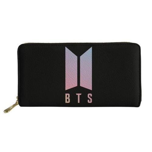 BTS Zipper KPOP Purse