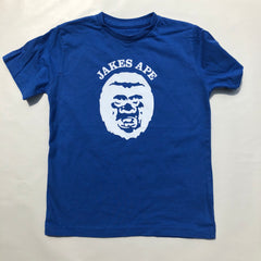 Kids - Jakes Ape - Royal Blue / white