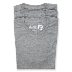 Plain T-shirts - Pack of 3 - Athletic grey  (J6302)