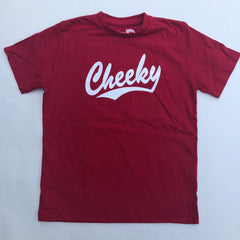 Cheeky - Red  / white