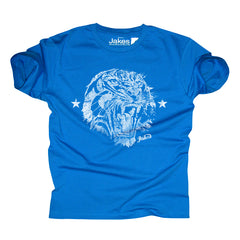 Kids Tigers Head - Royal / white