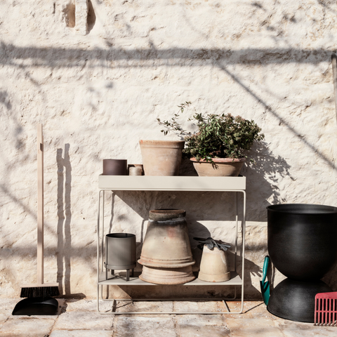 Best Plant Gifts | Ferm Living Plant Box - Two Tier in Cashmere | Batten Home