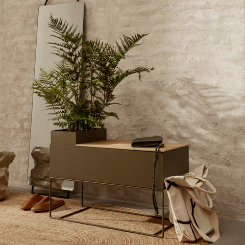 Best Plant Gifts - Ferm Living Large Plant Box with Tray   Batten Home