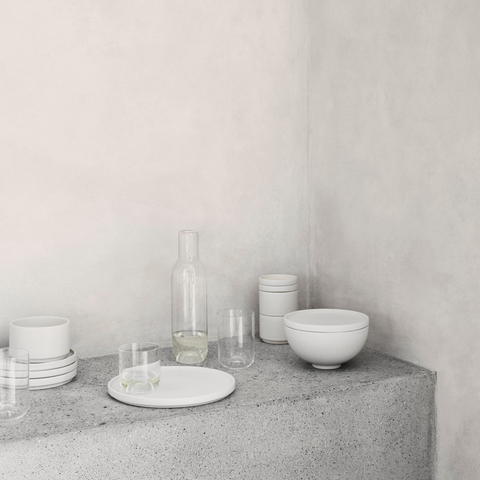 Capsule Carafe and Glass Set - Kristina Dam Studio  | Gifts for the home | Scandinavian Furniture and Decor | Batten Home