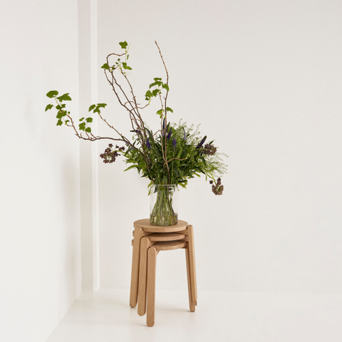 Minimal Plant Stand | Nomad Stool - Skagerak | Batten Home