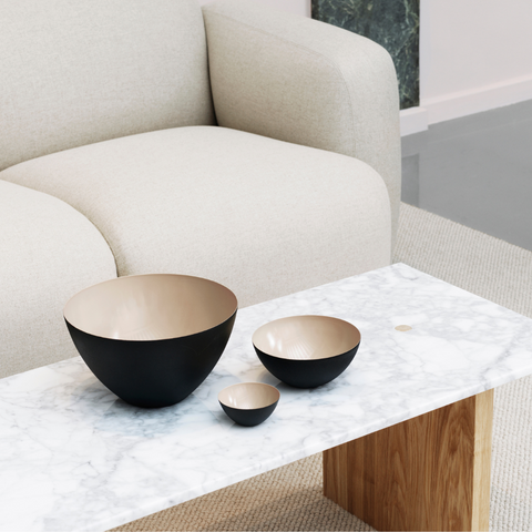 Functional modern decorative objects - Krenit Collection by Normann Copenhagen