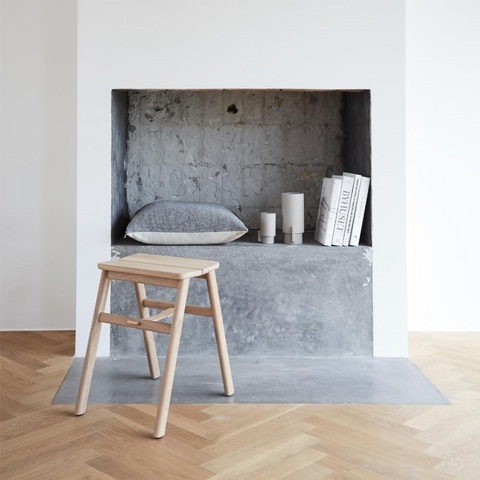 Wood stools - Form and Refine Angle Stool   Scandinavian Furniture from Danish Design Brands