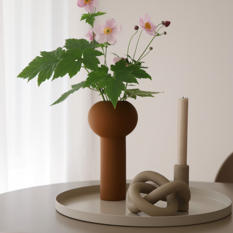 Cooee Minimalist Tray Circle   Cooee Vases, Cooee Design - Modern Vases at Batten Home