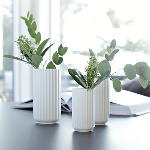 Lyngby Porcelain Vase | Gifts for the home | Scandinavian Furniture and Decor | Batten Home