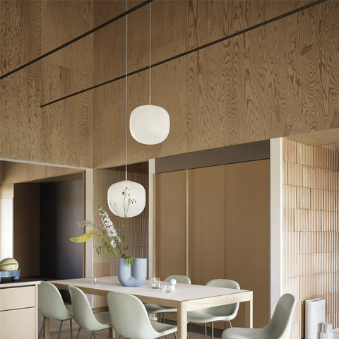 Rime Pendants by MUUTO   Pendant lamps for kitchen or anywhere   Batten Home -  Scandinavian furniture from Danish design brands