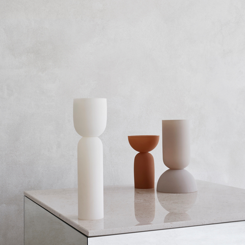 Modern Centerpiece Ideas - Dual Vase Collection | Kristina Dam Studio | Batten Home