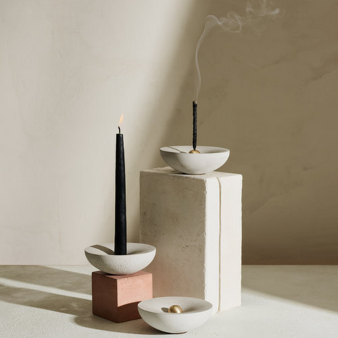 Modern home decor ideas - incense holders by Light + Ladder - Vorta Candlestick