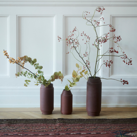 Modern Centerpiece Ideas - Edge Vase Collection | Skagerak | Batten Home