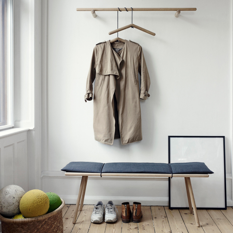 Georg Bench - Skagerak | Modern benches, bench with storage, entryway benches | Batten Home - Modern Scandinavian Home Decor and Furniture from Danish Design Brands