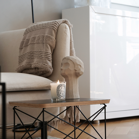 Sand Ollie Sculpture Styled On Side Table | COOEE Design | Batten Home