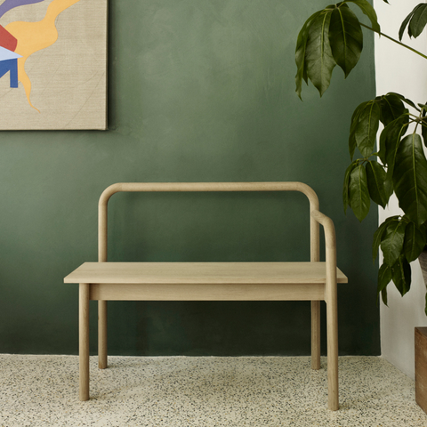 Maissi Bench - Skagerak | Modern benches, bench with storage, entryway benches | Batten Home - Modern Scandinavian Home Decor and Furniture from Danish Design Brands