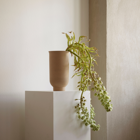 Shelf styling - how to style shelves | Cycle Ceramic Vase from Menu