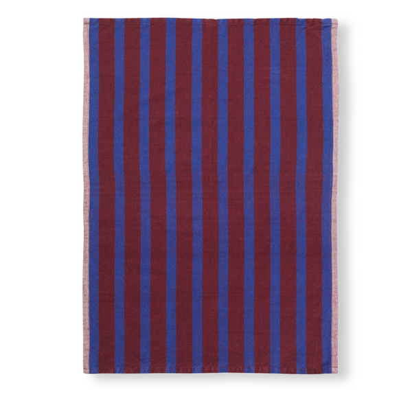 Hale Tea Towel Brown | Navy