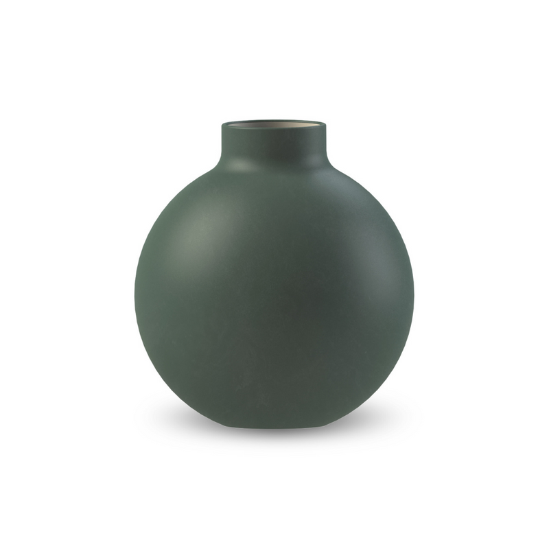 Collar Vase Vase Dark Green 12cm