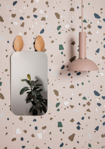 Ferm LivingTerrazzo Wallpaper Grey - Batten Home