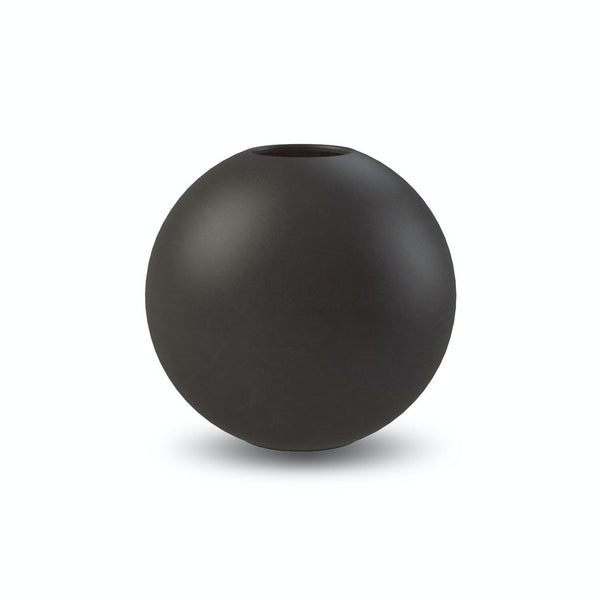 Ball Vase Black 10cm