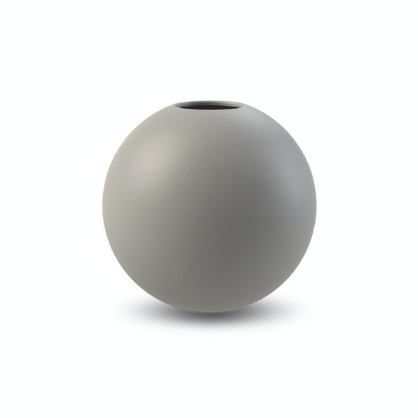 Ball Vase Grey 10cm