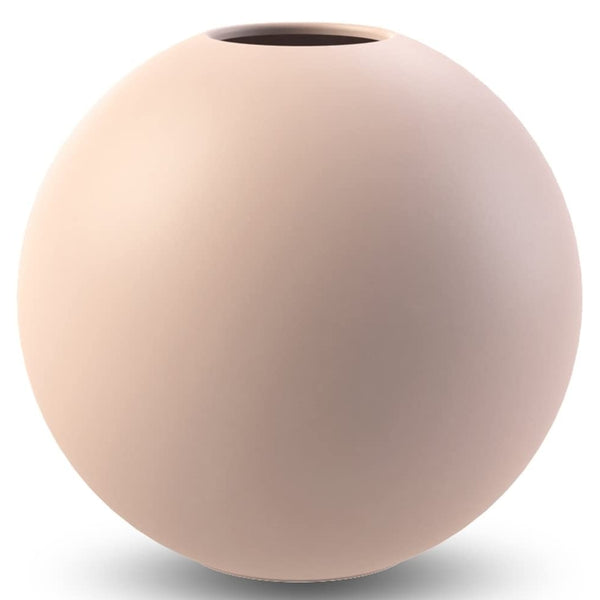 Ball Vase Dusty Pink 20cm