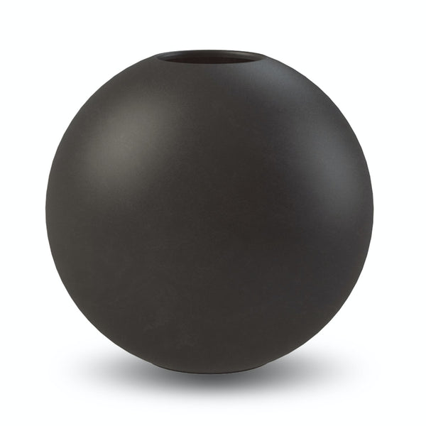 Ball Vase Black 30cm