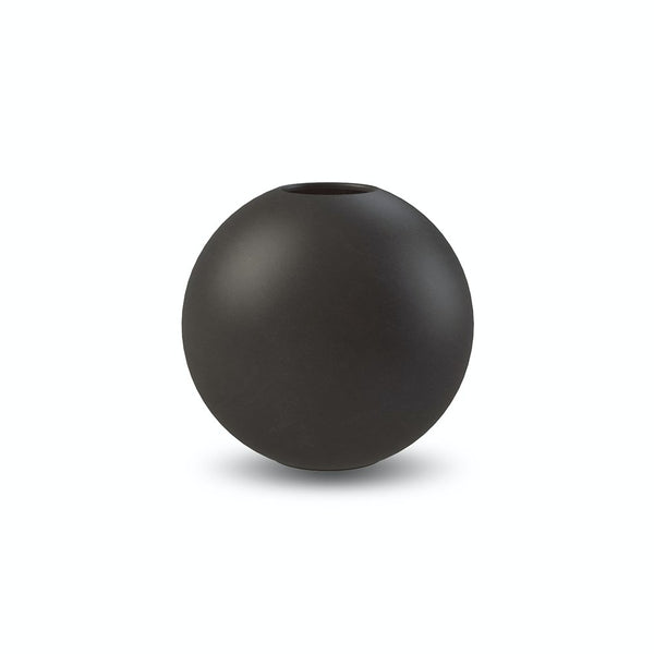 Ball Vase Black 8cm