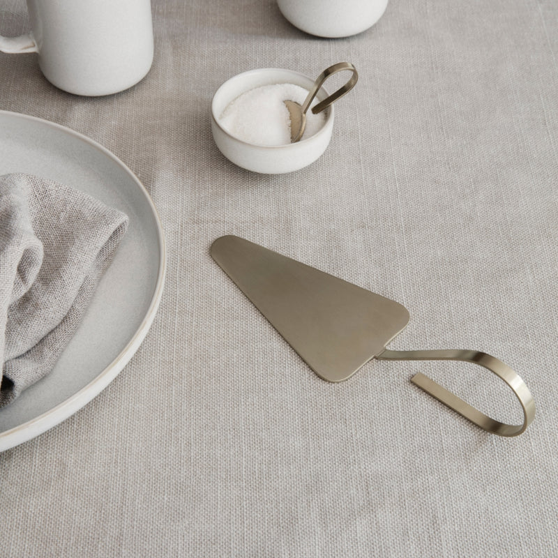 Ferm LivingFein Brass Cake Server - Batten Home