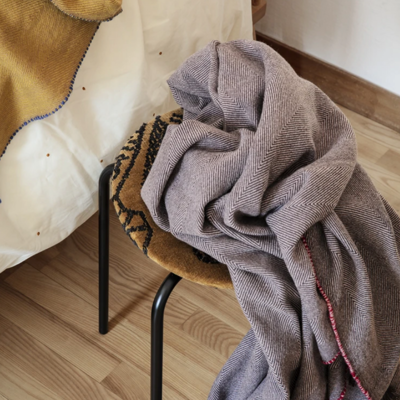 Ferm LivingHerringbone Blanket - Batten Home